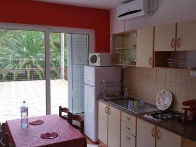 Espace Cuisine & Salle à manger de l'appartement en location à Budva